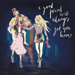 LM5  A good friend will always get you home